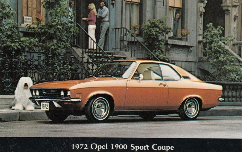 Opel 1900 sport coupe