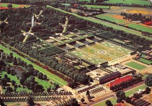 Hannover-Herrenhausen Der Grosse Garten, Garden Aerial view Panorama