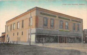 H60/ Holdrege Nebraska Postcard c1910 Street View Dime Store Front 126