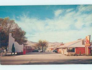 Pre-1980 MOTEL SCENE Pocatello Idaho ID AD9024