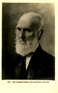 John Greenleaf Whittier.    *RPPC