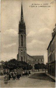 CPA Env. de BREST - L'Église de LAMBEZELLEC (458106)