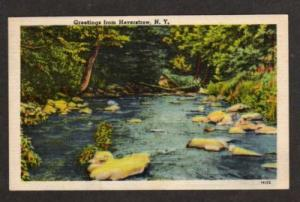 NY Greetings from HAVERSTRAW NEW YORK Postcard PC