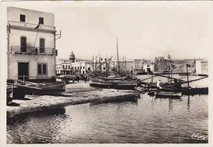 RP: BIZERTE - Vieux Port , Tunisie , 10-30s