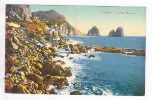 CAPRI, Italy, PU-1936   Piccola marina