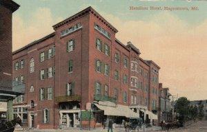 HAGERSTOWN , Maryland, 1900-10s ; Hamilton Hotel