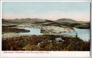 Lake Placid & Mirror Lake, Adirondack Mts