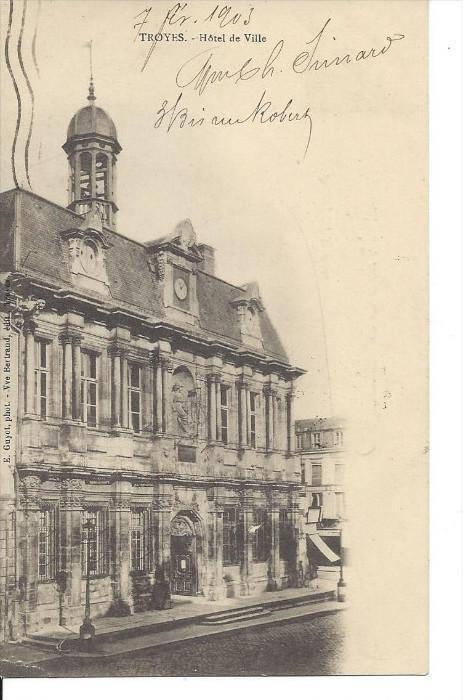 TROYES , Aube , France , 00-10s : Hotel de Ville