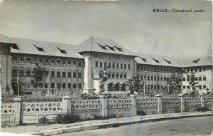 Romania Barlad complexul scolar Postcard