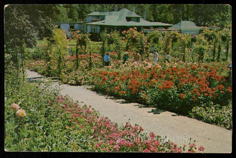 ROSE GARDEN AND RESIDENCE - The Butchart Gardens