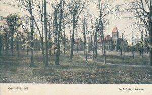 CRAWFORDSVILLE , Indiana , 1901-07 ; College Campus