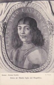 Firenze Palazzo Vecchio Pietro de' Medici figlio del Magnifico Vasari