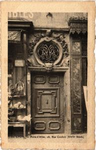 CPA LYON - Porte d'Allée 28 Rue Confort (XVII Siecle) (450638)
