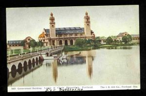 POSTCARD -Lewis & Clark Exposition, Portland-Government Bldg