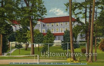 Hotel Mohawk Fourth Lake Old Forge Ny Unused