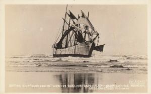RP: CAPE FALCON , Oregon , 1919 ; Shipwreck of GLENESSLIN
