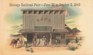 Postcard Chicago Railroad Fair Illinois