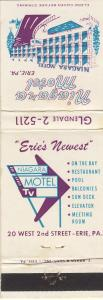 Vintage Eire, Pennsylvania/PA Matchcover, Niagara Motel
