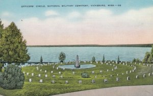 VICKSBURG , Mississippi, 1930-40s ; Officer's Circle ,National Military Cemetery
