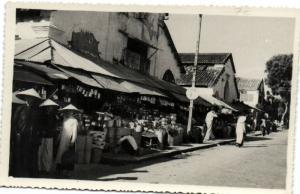 CPA Vietnam Indochine ANNAM Tourane - Un quartier du Marché (62136)