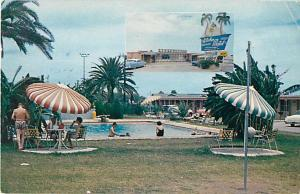 Pool Scene Aloha Motel San AntonioTexas TX, 1435 Austin Highway
