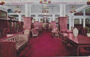 Illinois Chicago Marshall Field Department Store Women's Waiting Room 1911