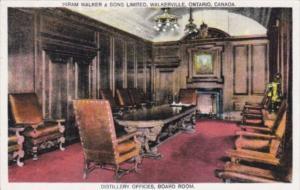 Canada Ontario Walkerville Distillery Offices Board Room Hiram Walker & Sons