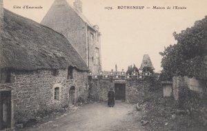 ROTHENEUF, Ille Et Vilaine, France, 1900-1910's; Maison de l'Ermite