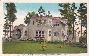 Home of Cody Fowler, Temple Terraces, TAMPA, Florida, 10-20s