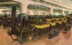 MI - Dearborn. Henry Ford Museum. DeWitt Clinton Train