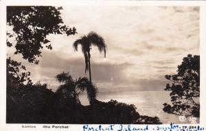 RP, SANTOS, SAO PAULO, Brasil, 20-40s; Ilha Porchat, Porchat Island