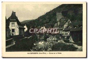 Old Postcard Kaysersberg (Ht-Rhin) Edges of weiss