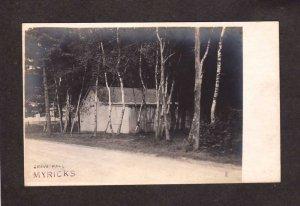 MA Grove Hall Myricks Berkley ??  Massachusetts RPPC Real Photo Postcard Mass