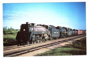 Canadian Pacific Railway Train, Austin, Manitoba 1959