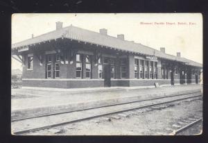 BELOIT KANSAS MISSOURI PACIFIC RAILROAD DEPOT TRAIN STATION