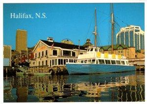 Large 5 X 7 inch, Haligonian III at Clipper Cay, Halifax, Nova Scotia