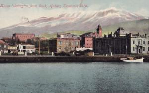 Mount Wellington From Dock Hobart Tasmania Australia Postcard
