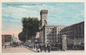 ELGIN , Illinois , 00-10s ; National Watch Works