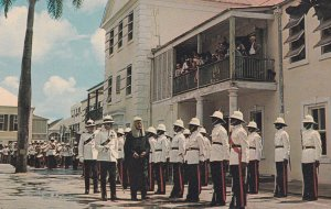 Chief Justice Inspecting The Guard Of Honor, Nassau, Bahamas, 1940s-Present