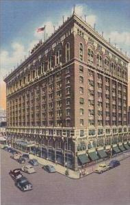Washington Spokane Davenport Hotel Curteich