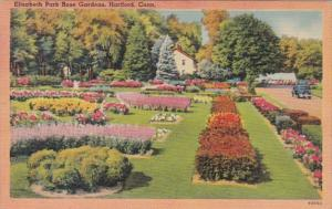 Connecticut Hartford Elizabeth Park Rose Gardens 1944