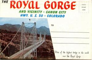 Folder -  Colorado, Royal Gorge (13 views + covers)