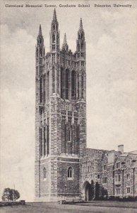 Cleveland Memorial Tower Graduate School Princeton University Princeton New J...