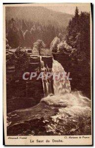 The Saut Du Doubs - Old Postcard