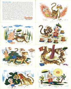Sambos Restaurant 8 PostCard Set Postcard Old Vintage Antique  Sambos Restaur...