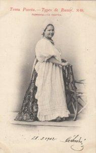RUSSIA , 1902 ; Types de Russie , Woman