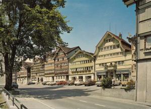 Switzerland, Suisse, URNASCH, Dorfplatz, 1988 used Postcard