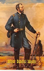 Major General Meade Civil War Unused