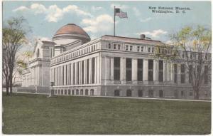 New National Museum, Washington DC, unused Postcard