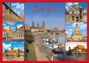 Dresden multiviews Stallhof Schloss Zwinger Wallpavillon Frauenkirche Semperoper